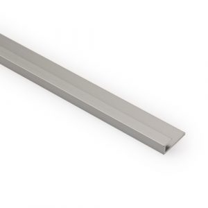 Laminaattilevyn päätylista 650mm alumiini