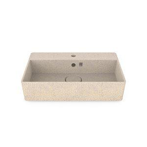Woodio allas Cube 60 valkoinen polar glossy